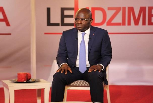 Régis Immongault à l'émission Le Ndzimba