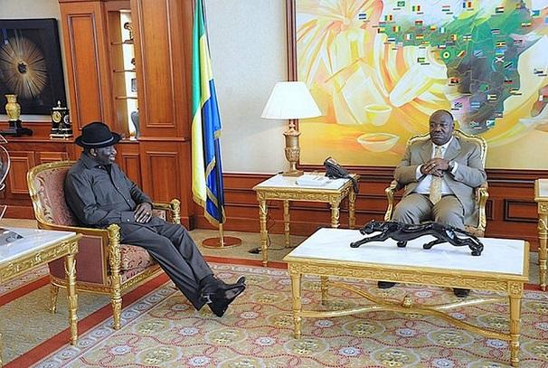 Ali Bongo Ondimba et Goodluck Jonathan