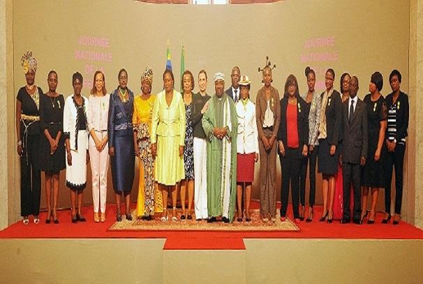 Ali Bongo Ondimba honore la femme