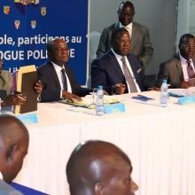 Début de la phase politique du dialogue national
