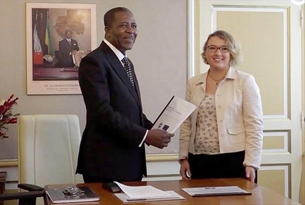 Gwenaëlle Suc a remis un rapport à Mathias Otounga Ossibadjouo