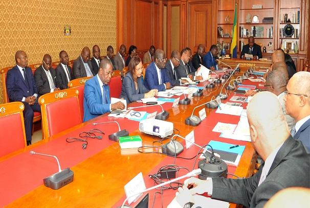 Le Conseil présidentiel sur les infrastructures