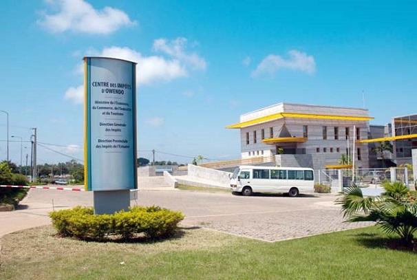 Le centre des impôts d'Owendo