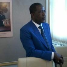Mathias Otounga Ossibadjouo, ministre du budget et des comptes publics