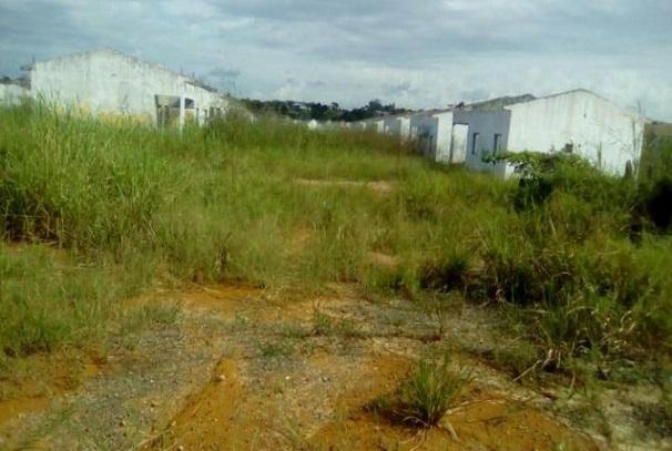 Une vue des anciens logements du site de Bikelé