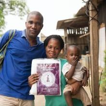 distribution des moustiquaires au Gabon