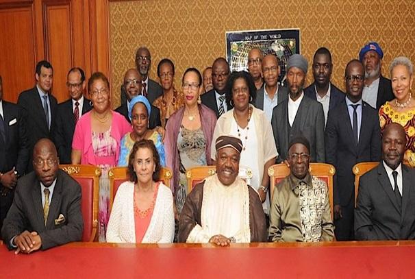 Ali Bongo Ondimba et afro-descendants