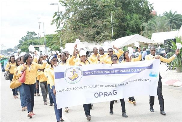 Fête du travail à Libreville (photo autre presse par DR)