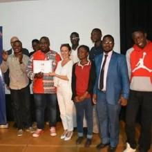 JA Gabon a remporté le premier prix