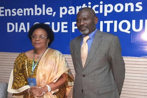Léontine Mebalet et Thierry D'Argendieu Kombila