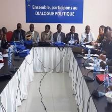 Réunion de la commission 2 du dialogue