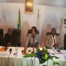 Rose Christiane Ossouka préside le Conseil municipal