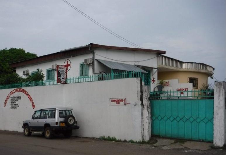 Une clinique à Libreville (photo, autre presse par DR)