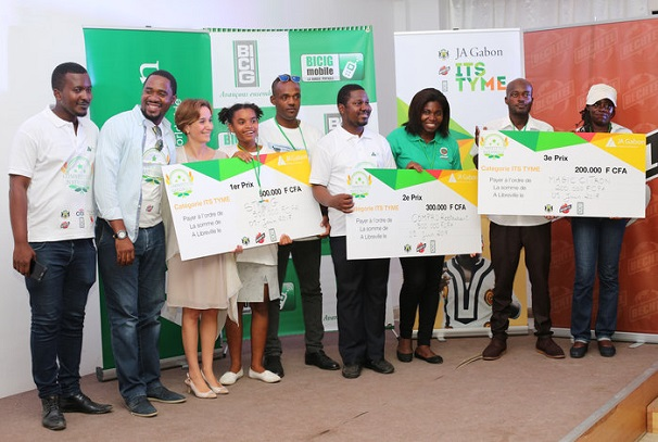 JA Gabon et ses lauréats