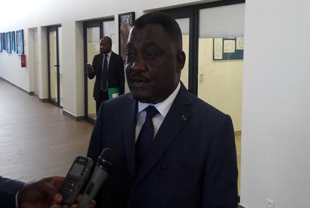 Léon Nzouba, ministre gabonais de la santé