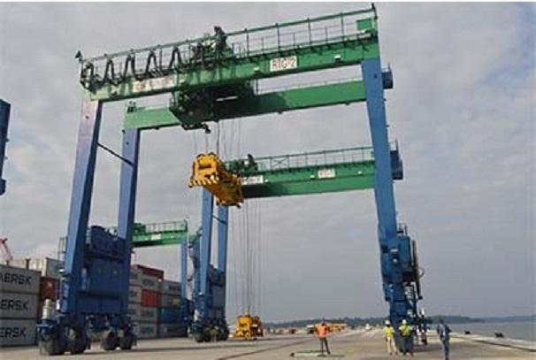 Le port général cargo d'Owendo