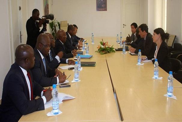 Séance de travail entre la délégation de la CPI et celle du gouvernement