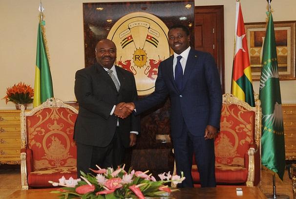 Ali Bongo Ondimba et Faure Essozimna Gnassingbé
