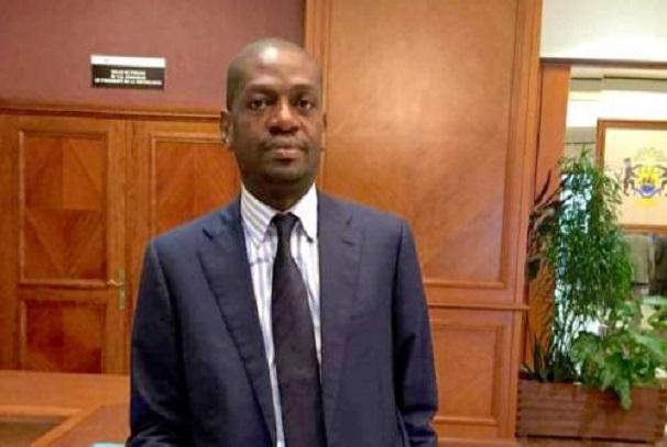 Eloi Nzondo, ministre en charge de la formation professionnelle