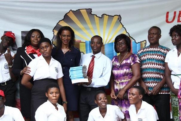 L'Initiative 'L'Afrique qui lit' de UBA au Lycée d'Accra