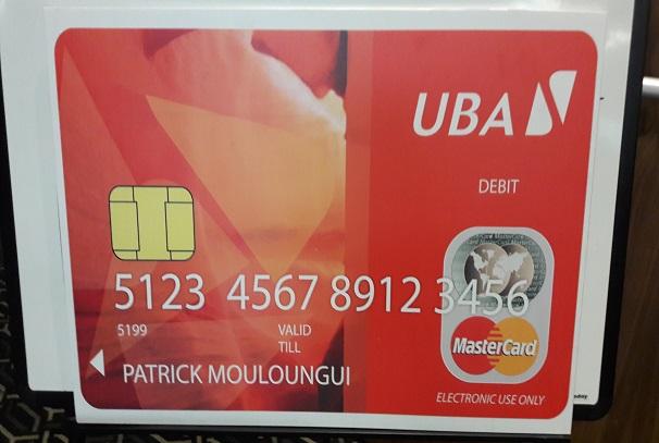 La MasterCard de UBA