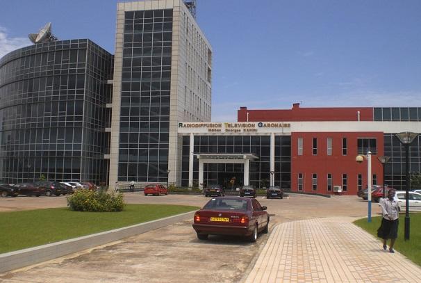 Siège de Radio Gabon à Libreville