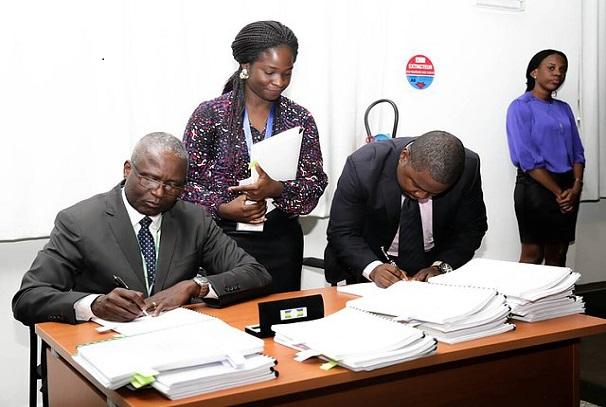 Convention entre AFIP et JA Gabon