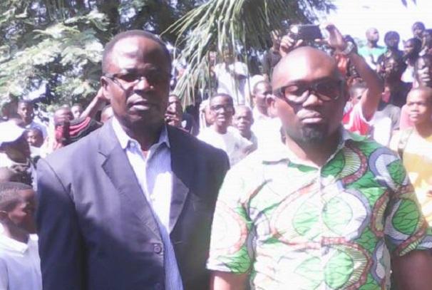 Dénis Andoung Zolo et Christian Mihindou