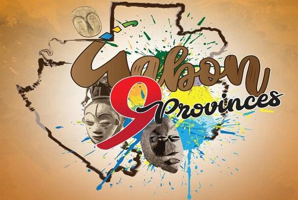 Gabon 9 provinces