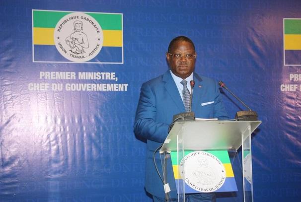 Le Chef du gouvernement, Emmanuel Issoze Ngondet
