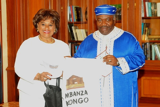 Le Président Ali Bongo Ondimba a reçu Caroline CERQUEIRA, Ministre angolais de la culture