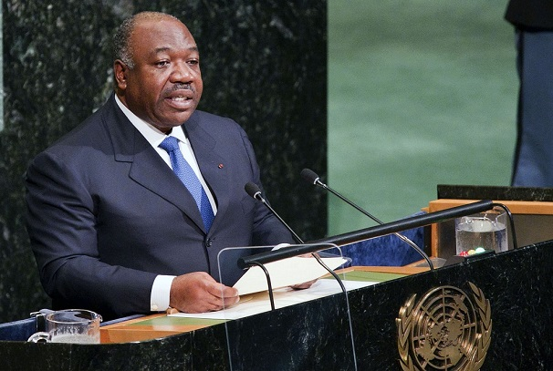 Ali Bongo Ondimba à New York à l'ONU
