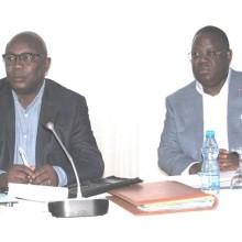 Emmanuel Issoze Ngondet et Pierre-Claver Maganga Moussavou