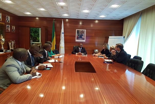 Gabonais et américains se concertent sur la trésorerie