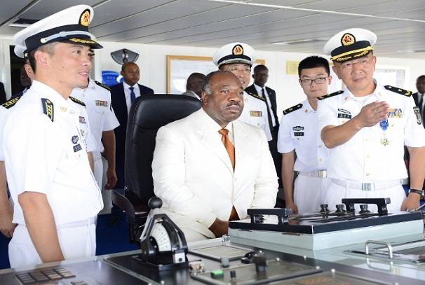 Ali Bongo Ondimba dans L'Arche de la paix