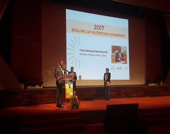 Déclaration de Yves Fernand Manfoumbi, Lauréat du Prix SUN 2017