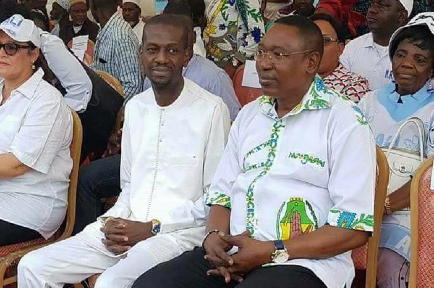 Eloi Nzondo et Jean Marie Koumba Souvi