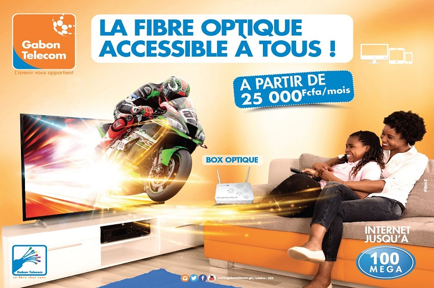Internet avec Gabon Telecom