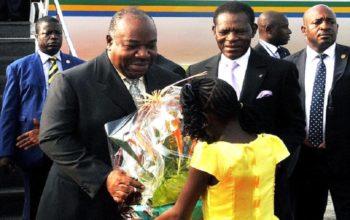 Ali Bongo Ondimba en visite officielle en Guinée équatoriale