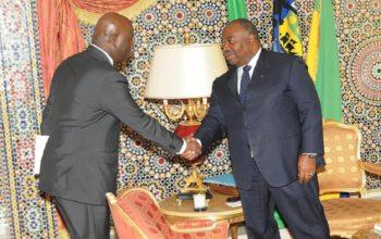 Ali Bongo Ondimba reçoit Abdoulaye Sally Sall