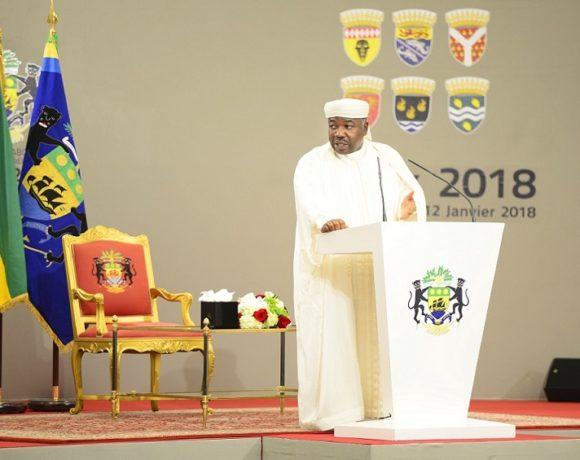 Ali Bongo Ondimba s'adresse aux forces de sécurité