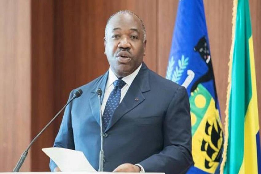Ali Bongo Ondimba s'adresse aux journalistes