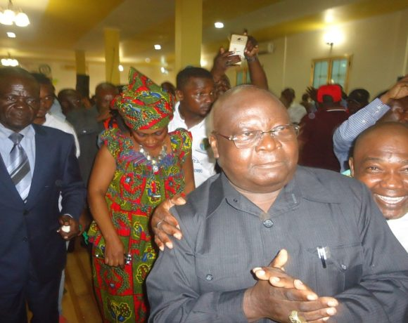 Ferdinand Mbadinga Mombo et les ressortissants de Denguila