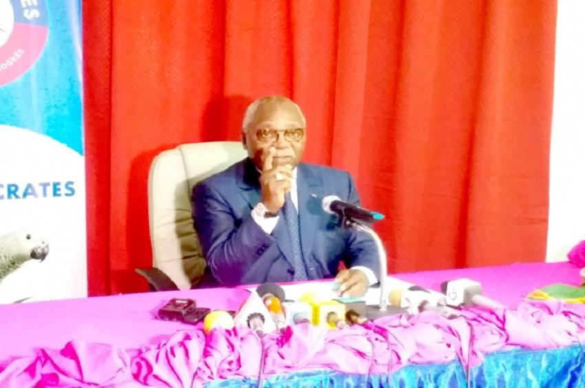 Guy Nzouba Ndama annonce