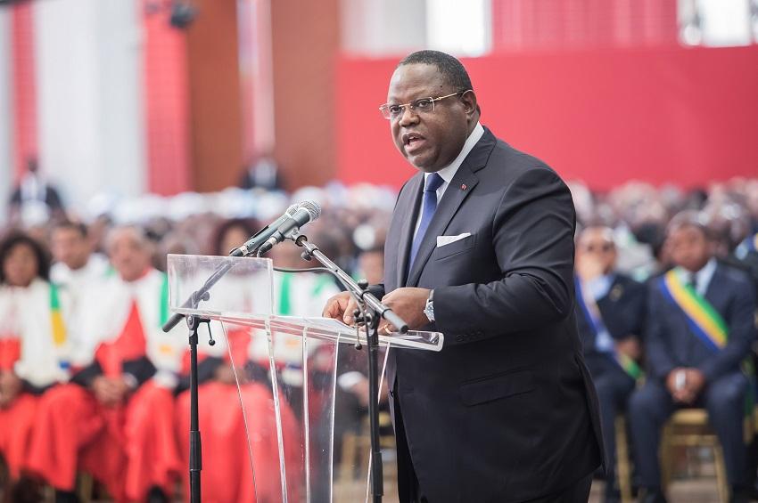 Intervention du Premier ministre, Emmanuel Issoze Ngondet