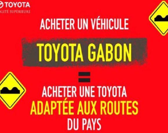 La publicité de Toyota Gabon