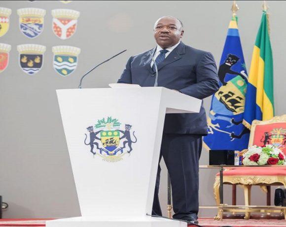 Voeux du président Ali Bongo Ondimba aux corps constitués