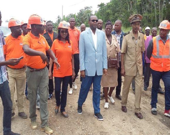 Jean-Pierre Oyiba annonce le lancement des travaux