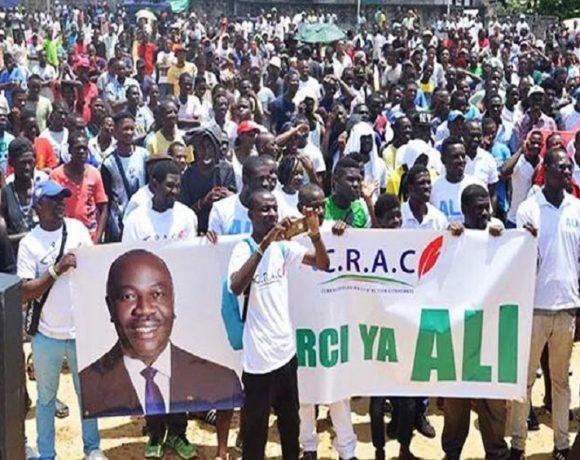 La jeunesse remercie Ali Bongo Ondimba