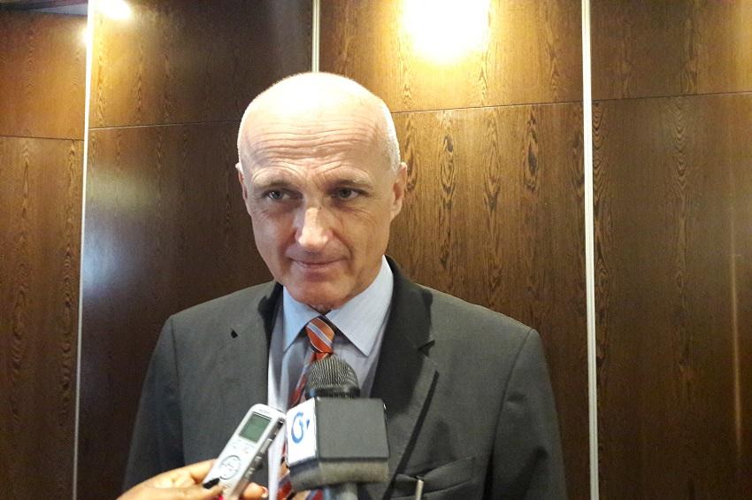 Helmut Kulitz, ambassadeur de l'Union européenne au Gabon